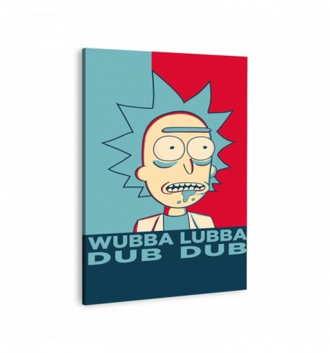 Rick and Morty wubba lubba...