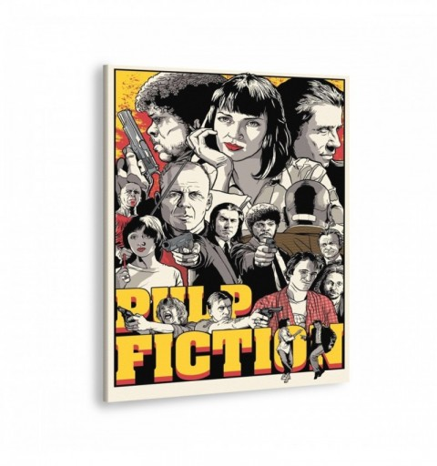 Pulp Fiction Mix - Canvas...