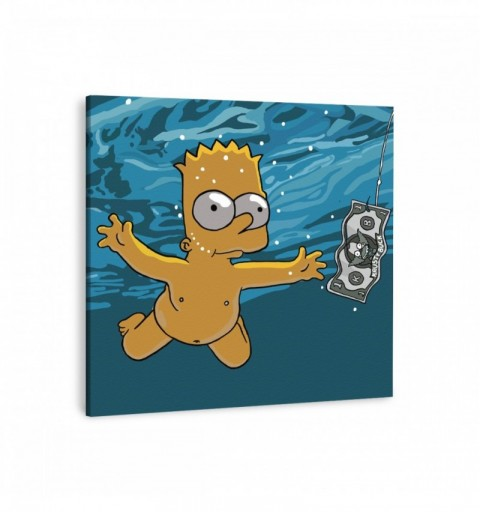 Nevermind Bart - Canvas...