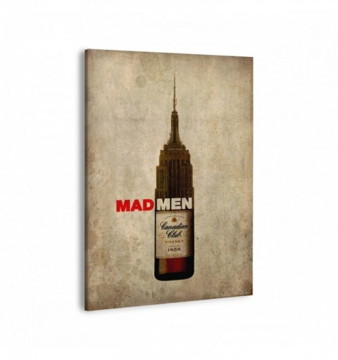 Mad Men Whisky - Canvas...