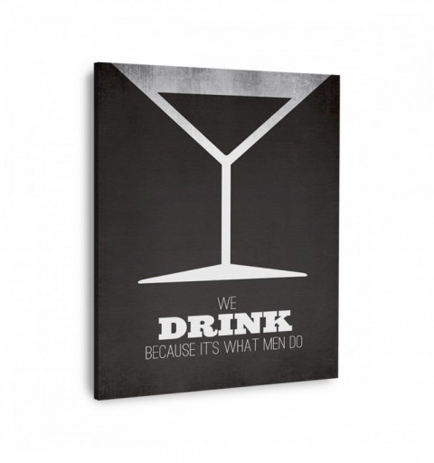 Mad Men Martini - Canvas...