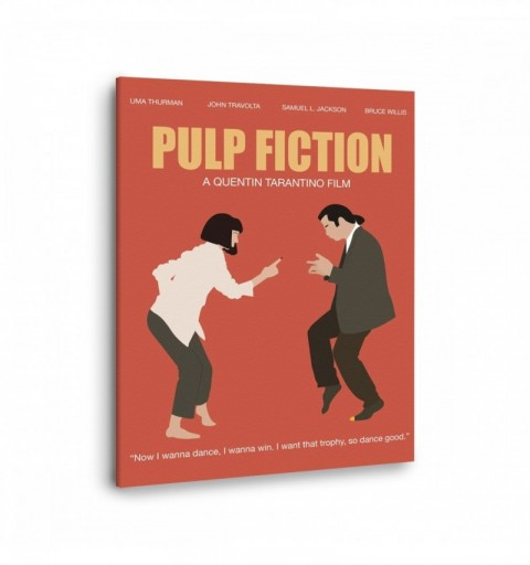Pulp Fiction Dance - Canvas...