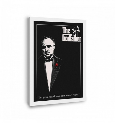 The Godfather - Canvas...