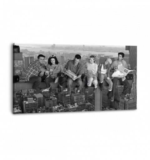 Friends Skyline - Canvas...