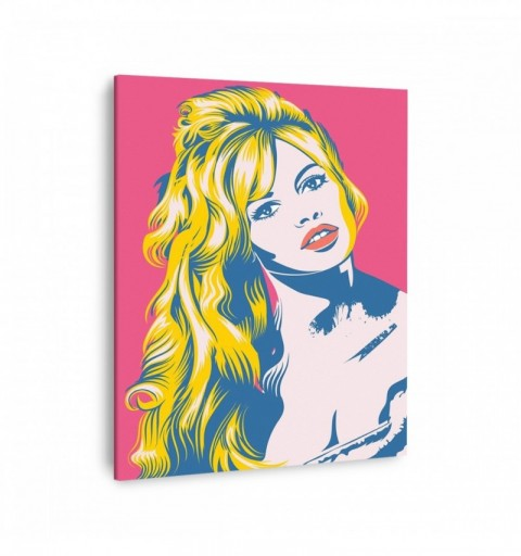 Brigitte Bardot Pop Art