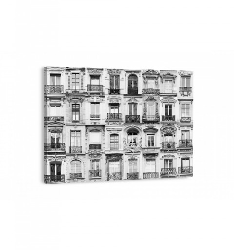 Balcones de Paris - Canvas...