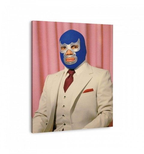 Retrato Blue Demon