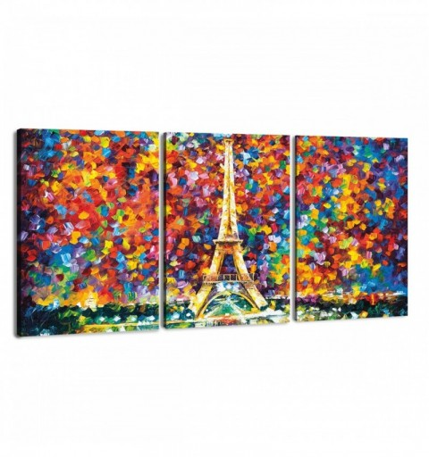 Paris of my Dreams Triptico