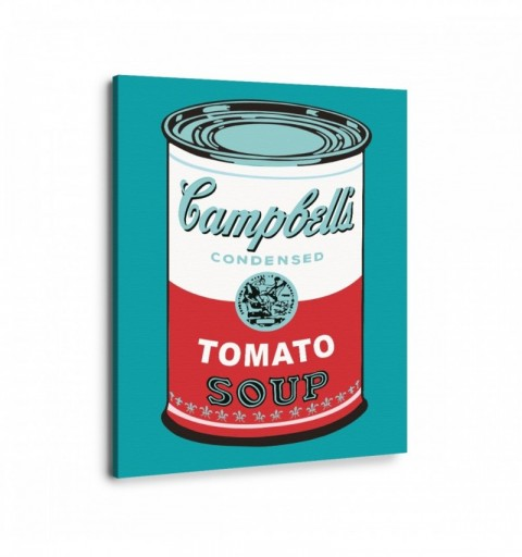 Cambell s Blue - Andy Warhol