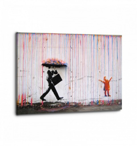 Color Rain - Banksy
